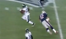 This Tom Brady Tackle Attempt Is Hilarious and Sad (Videos)