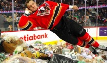 Watch 28,815 Stuffed Animals Go Airborne for the Calgary Hitmen's Annual 'Teddy Bear Toss' (Video)