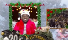 Watch This Bizarre Video of the Steelers Singing a Christmas Carol (Video)
