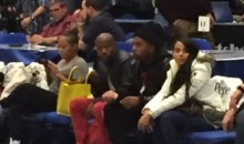 Why Was Floyd Mayweather Sitting Courtside at an NBA D-League Game? (Tweets)