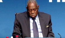 Acting FIFA President Issa Hayatou Falls Asleep During Important Meeting (Video)