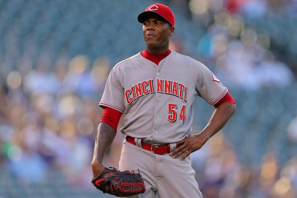 aroldis chapman trade domestic violence indident reds dodgers