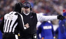 "Bills Coaches Confront Refs After Eagles Game, Call Them ""Disgrace"" to NFL (Video)"