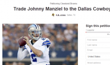Cowboys Fan Creates Petition To Bring Johnny Manziel To Dallas