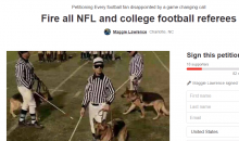 Packers Fan Starts Petition To Fire All NFL & College Football Refs