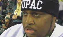 Irate Eagles Fan Goes Off & Rants At The Eagles Game (Video)