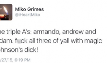 Brent Grimes' Wife, Miko Went On Twitter Rant Against Dolphins Reporters & Tannehill