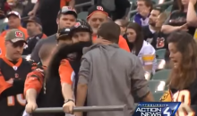 Steelers Fan Allegedly Elbowed Female Bengals Fan In Face, Gets Hit Repeatedly & Arrested (Vid)