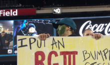 Elite Bench Player, RG3 Gets Trolled By These Eagles Fans (PIC)