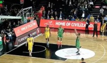 Insane Euroleague Basketball Game Ends with Seven Intentionally Missed Free Throws (Video)