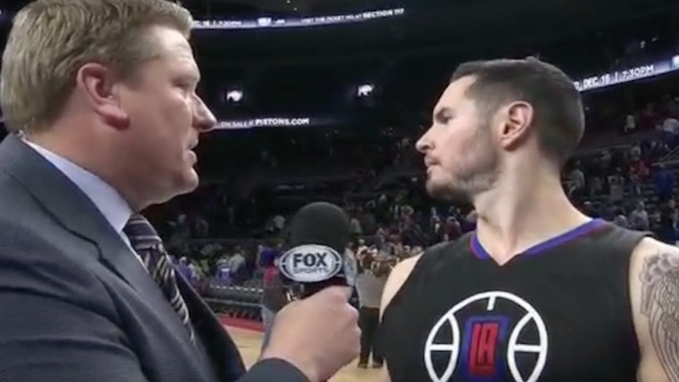 jj redick interview cut short