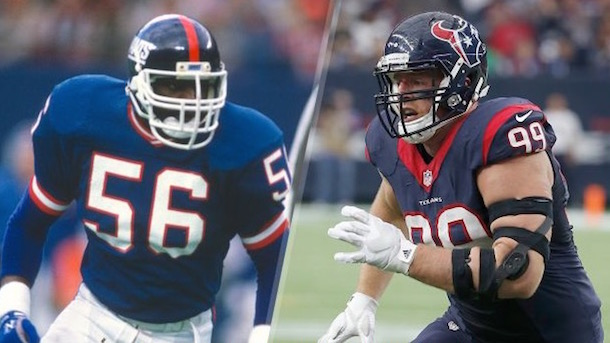 jj watt-lawrence taylor mashup