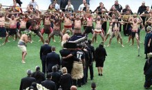 Funeral for New Zealand Rugy Legend Jonah Lomu Features Emotional Farewell Haka Dance (Video)