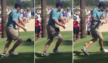 Jordan Spieth Hits Happy Gilmore at Florida Pro Am (Video)