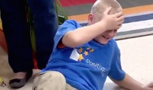 Kevin Durant Shows Up at OKC School to Donate $35K, Adorable Kid Collapses in Disbelief (Video)