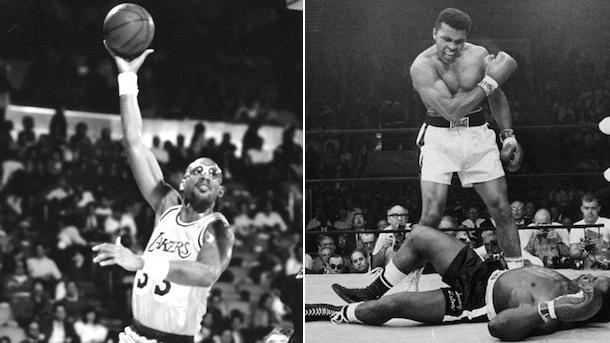 muslim sports heroes kareem abdul-jabban muhammad ali