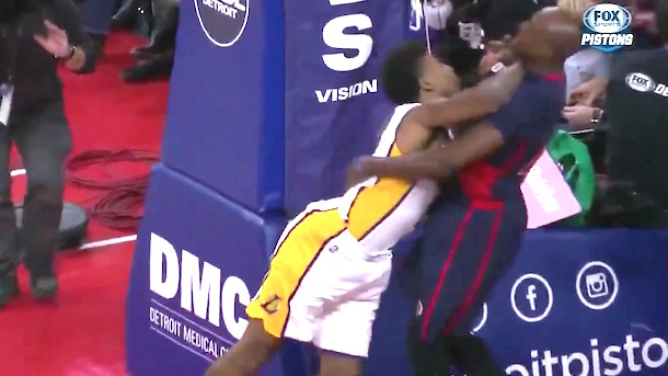nick young ejected swaggy p forearm throat tolliver