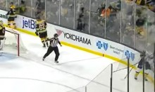 Hero Referee Curses Out James Neal While Giving Him Two Minutes For Embellishment, Because Hockey Is Awesome (Video)