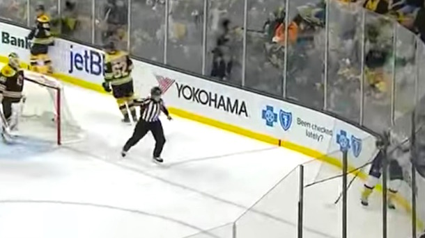 referee curses out james neal predators forward embellishes high stick