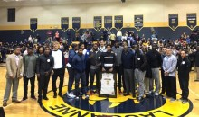 Thunder Players Attend Teammate Cam Payne's High School Jersey Retirement Ceremony, High School Kids Freak Out (Pics)