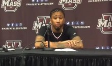 UMass Guard Trey Davis Says Mom Shutting Off Phone Data Provided Motivation for 40-Point Performance (Video + Tweet)