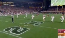 Crazy Onside Kick Helps Alabama Take Fourth Quarter Lead (Video)