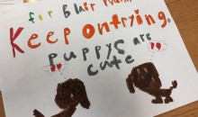 First-Graders Make Uplifting Cards To Cheer Up Blair Walsh (Video)
