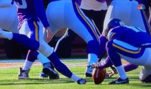 Laces Were In During Blair Walsh's Missed Field-Goal (Photo)
