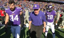 88-Year-Old Bud Grant Wears Short-Sleeved Polo at Freezing Cold Vikings Game (Pic)