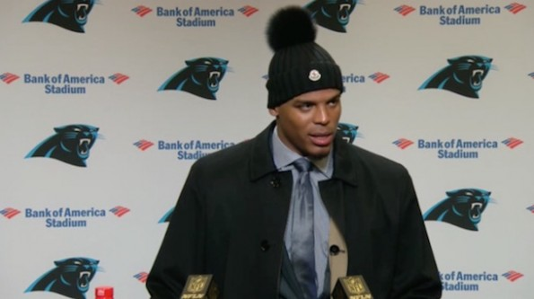 Cam Newton Throws Sideline Tantrum Laced With F-Bombs