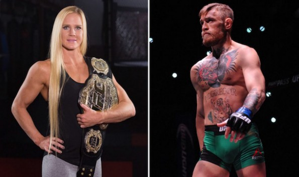 Conor McGregor Holly Holm UFC 197