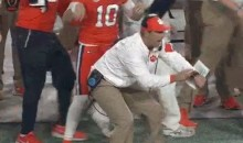 Clemson Loses Valuable Seconds at End of Half Due to Clock Error (Video)