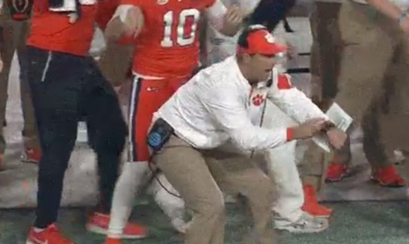 Dabo Swinney Clock Error
