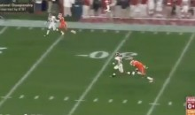 Alabama's Derrick Henry Opens Scoring With 50-Yard TD (Video)