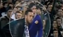 Real Betis Fan Tried to Spit on Cristiano Ronaldo (Video)