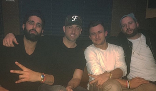 Johnny Football Partying