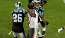 Josh Norman and Mike Evans Get Into Halftime Altercation (Video)