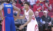 Rockets' K.J. McDaniels Fouled Andre Drummond 5 Times in 9 Seconds (Video)