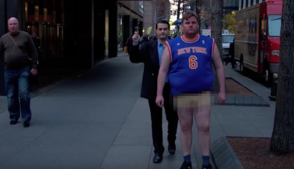 Knicks Fan Shamed