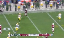 Larry Fitzgerald 75-Yard Catch & Run Sets Up Cardinals OT Win (Video)