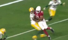 Larry Fitzgerald Annihilates Unsuspecting Packers Player With Illegal Block (GIF)