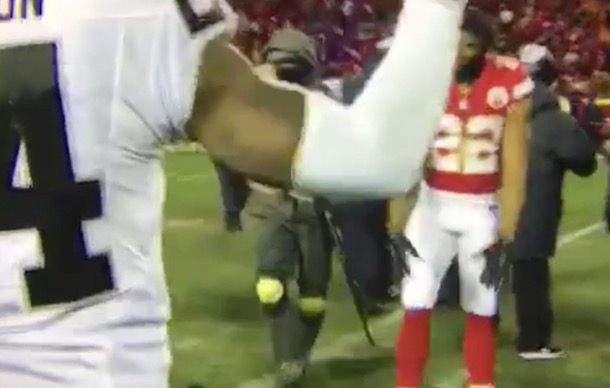 Marcus Peters Bow Down to Charles Woodson