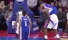 Nerlens Noel Fouls Andre Drummond In The Most Ridiculous Way Possible (Video)
