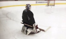 Patrick Roy Almost Had to Play Goalie For the Colorado Avalanche Last Night (Video)