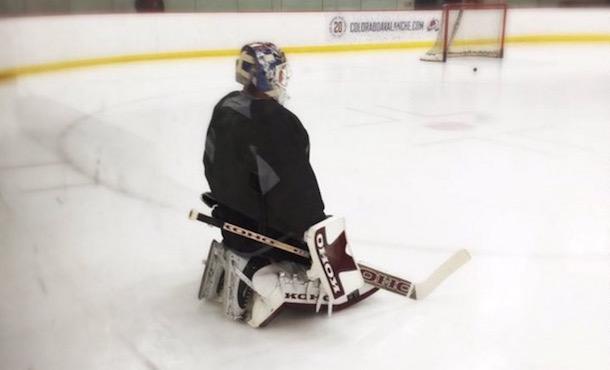 Patrick Roy Practice