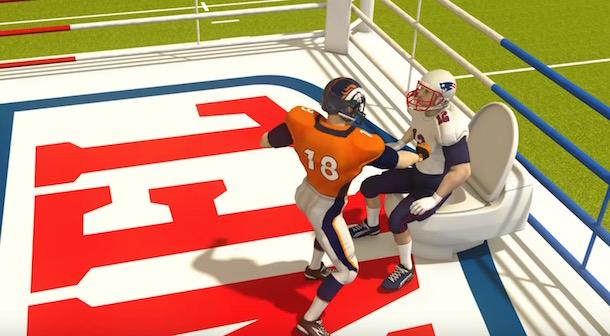 Peyton Manning Tom Brady Taiwanese Animation