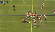 Peyton Manning Gives Himself Up, Gets Up, Completes 34 Yard Pass (Video)