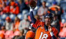 Peyton Manning is Back, Takes Over as Broncos QB vs. Chargers