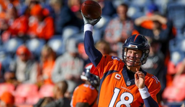 Peyton Manning Is Back Takes Over As Broncos Qb Vs