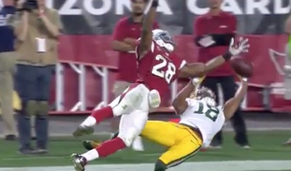 Randall Cobb one-handed catch